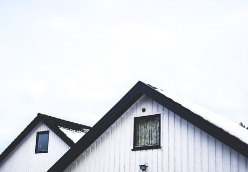 New Free Stock Photo Of Wood Sky House White Paint House