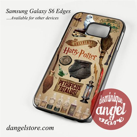 Harry potter Phone Case for Samsung Galaxy S3/S4/S5/S6/S6 Edge Only $10.99