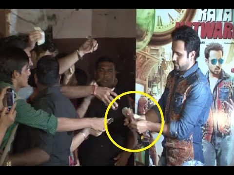 Emraan Hashmi selling Salman Khan's KICK movie tickets - WHY?