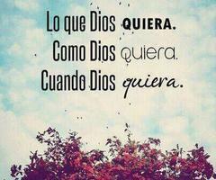 Te amo Dios.