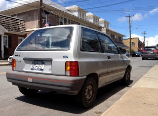 1989 Ford Festiva LX Three Door Hatchback