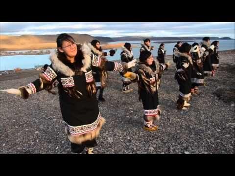 Inuit song  A l'école des Inuits - YouTube