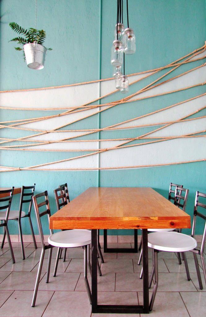 restaurante de mariscos. diseño interior/ mayra llamas