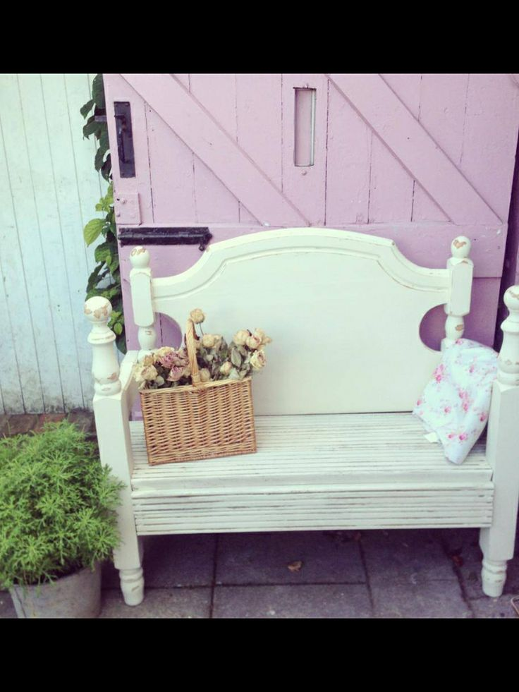 Painted bed benches. Made to order in various sizes & colours.