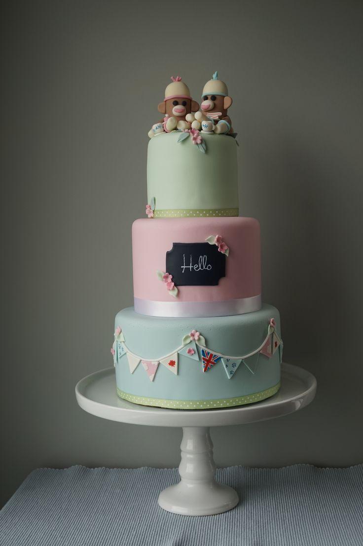 The blue cake company wedding cakes birthday cakes 2016 car release - When A Cake Tells Their Story Duck Egg Blue Rose Eau De Nil