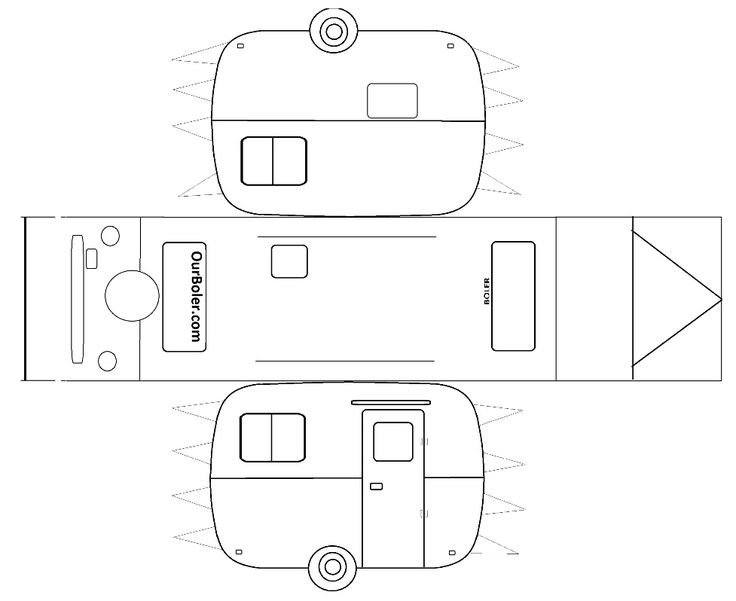 paper template | Paper Boler Template | Family Outdoor Adventures