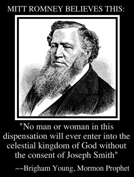 Pretty scary, said by a mormon prophet that can do or say NO wrong. I do not miss this guy, he was a sociopath.  I'm so glad that I'm an ex-mormon!