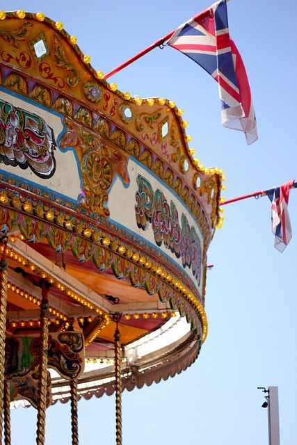 Carousel on Brighton Palace Pier