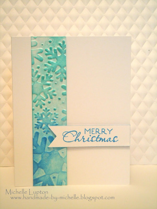 Handmade by Michelle: Quickie using scraps