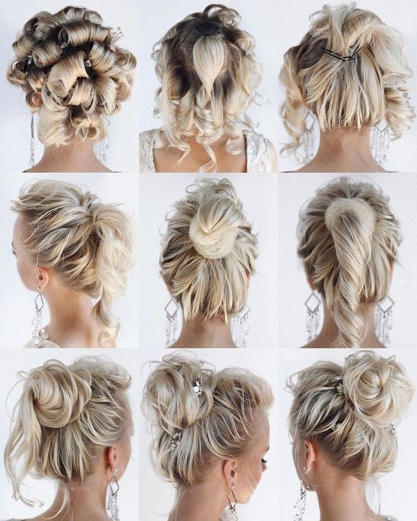 30 Prom Wedding Hairstyle Tutorial For Long Hair Roses Rings Part 3 In 2020 Hair Tutorial Hair Styles Elegant Wedding Hair