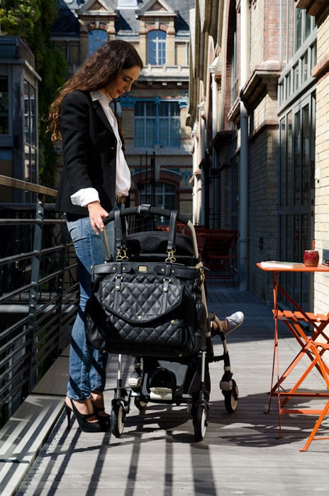 Lady Chic magic stroller bag!  If only I could find this line in the United States!