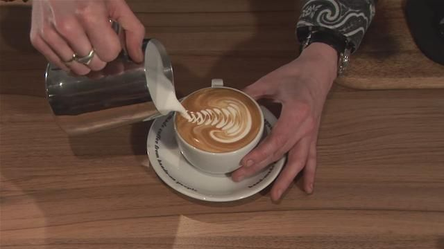 #coffee - video tutorial on How To Make Latte Art