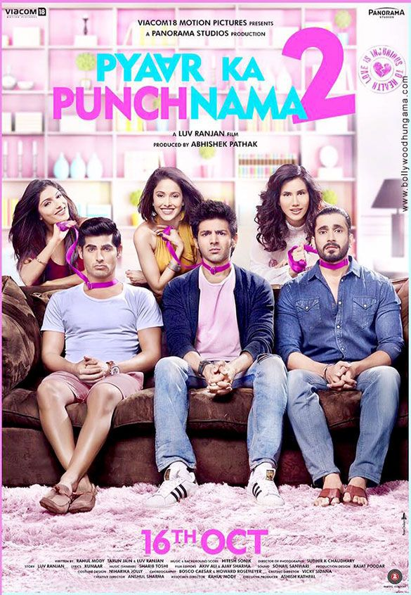 Pyaar ka Punchnama 2 1st Friday and 2nd day Saturday collections. Movie is performing good on India and overseas collections. Released on 16 Oct.