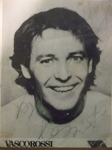 1980: headshot Vasco Rossi
