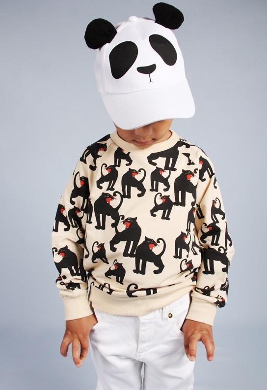 Mini Rodini Panther Sweatshirt