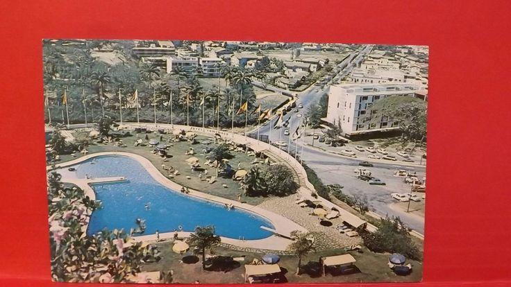 Piscina Hotel Tamanaco Swimming Pool 1950s Carlos Benito Caracas Venezuela PC   eBay