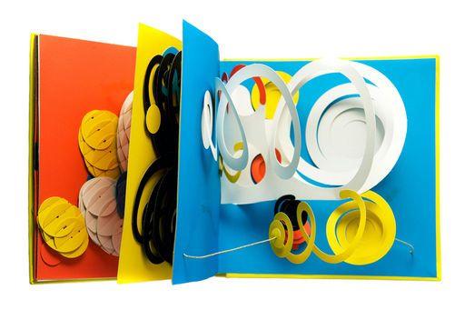 POP-UP book.