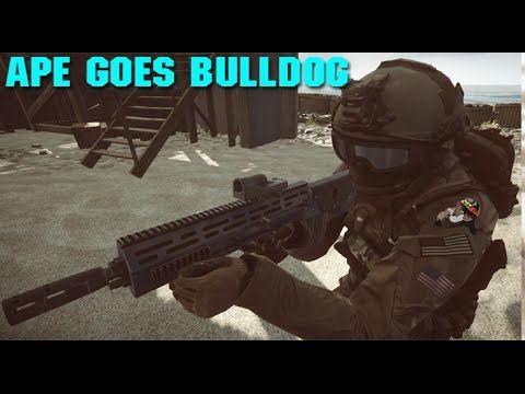 ► Ape Goes Bulldog | #BF4 SRSS Bulldog 762 Gun Review, Battlefield 4 Gam...