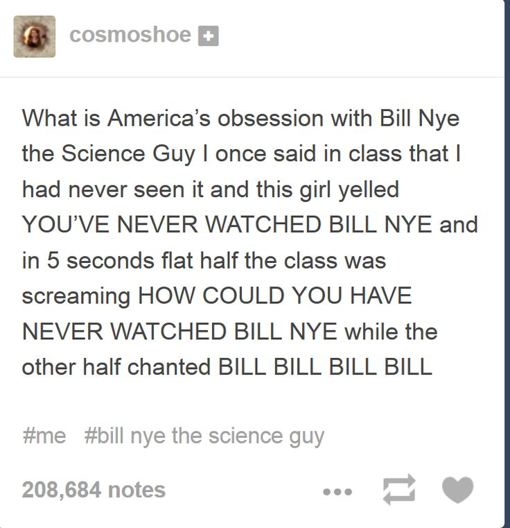 When one exchange student learned how passionate America is about Bill Nye.