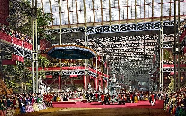 The Great Exhibition in London, 1851.