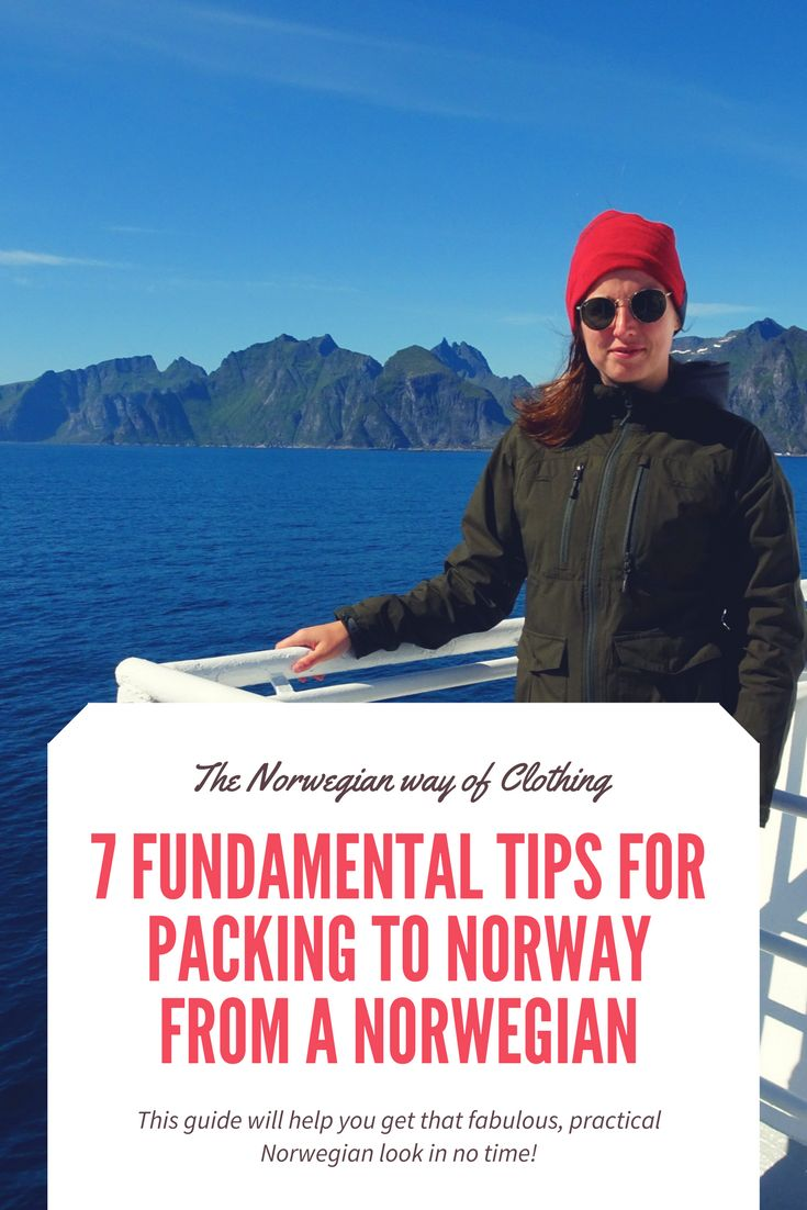 I will give the packing advice's that is necessary for traveling around Norway the most convenient way.     Not having the right clothes or shoes is not going to break the trip in Norway, but it can be less comfortable. Let's make it a pleasant trip and let's do the packing to Norway right in the first time packing. In this way: Enjoying the trip in Norway and not using your energy on being cold in May, because you have packed a warm jacket!