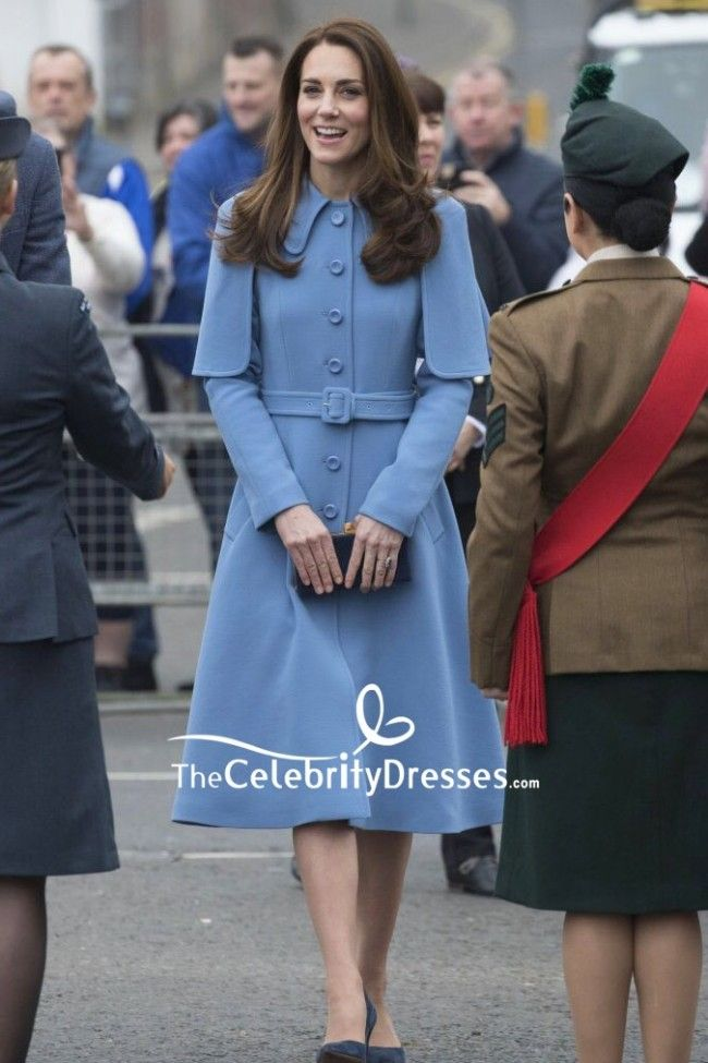 katemiddleton blauer mantel 2019 kleid abendkleid