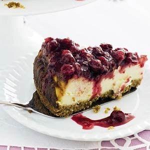 Cranberrycheesecake recept - Taart - Eten Gerechten - Recepten Vandaag