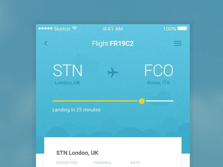 Flight App Idea