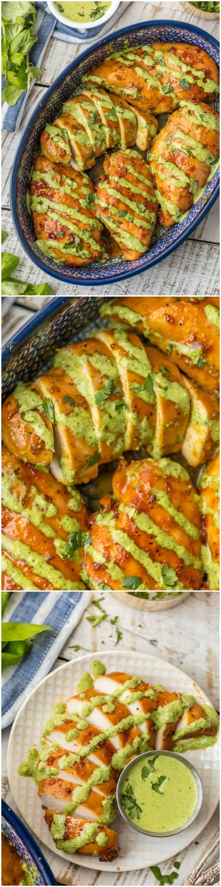 This PERUVIAN CHICKEN WITH GREEN SAUCE is one of our favorite easy weeknight meals. This sauce is EVERYTHING and has so much flavor! This is a must make chicken recipe. via @beckygallhardin