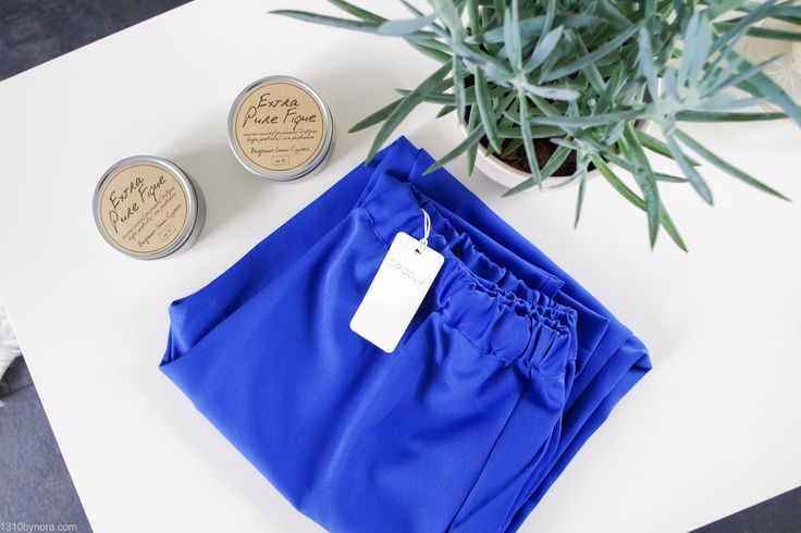 1310bynora, new in, oroblù, bright blue pants,