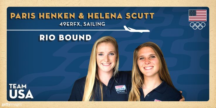 Paris Henken And Helena Scutt Are The First Sailors Qualified To The 2016 U.S. Olympic Sailing Team