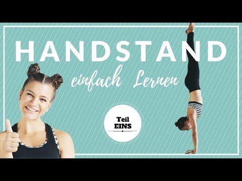 Handstand Lernen | Anfänger Tutorial | Warm Up Übungen zum Aufwärmen - YouTube