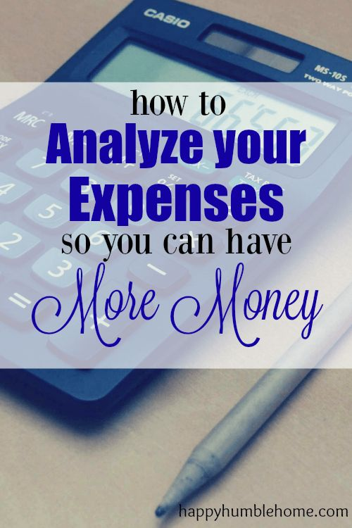 How to Analyze and Cut Expenses so you can have MORE MONEY! I used this method and I was able to save a TON!