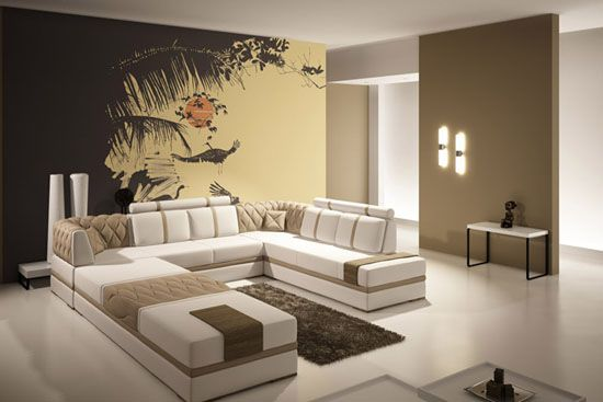 Modern Interior Decorating Ideas, Large Art Prints For Wall