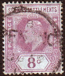 Straits Settlements 1902 King Edward VII SG 114 Fine Fine Used Scott 97 Other Malay Straits Stamps HERE