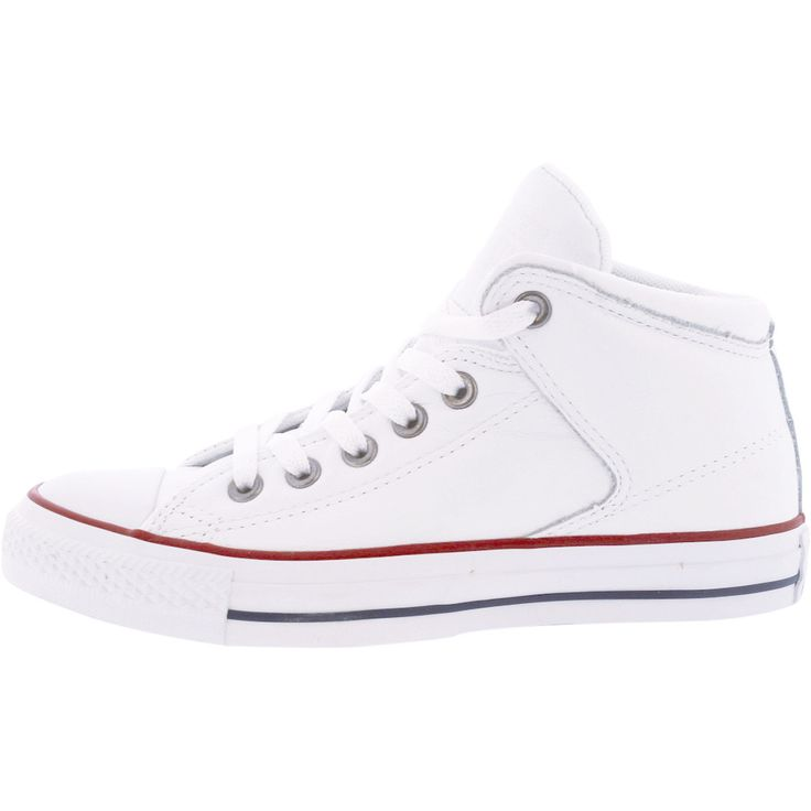 Converse - CT All Star High Street Mid Leather Sneaker - White