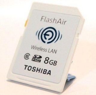 Toshiba Flash Air, la tarjeta SD que crea su propia red.
