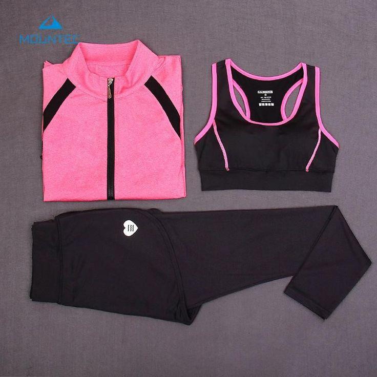 Yoga Gym Suit Sports Tracksuits Jumpsuit Clothes For Women Workout Sport Suit Women 3Pcs Yoga Sets Fitness Dance Tights