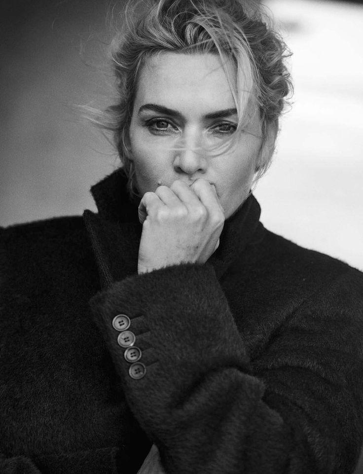 Kate Winslet by Peter Lindbergh _ Vogue Italia, November 2015.