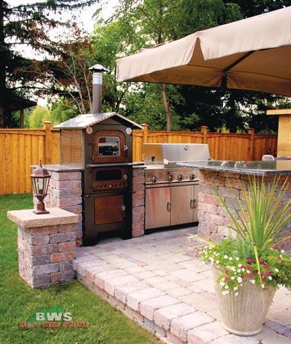 Best Stone And Kitchen: Outdoor Kitchen: Best Way Stone > Wall: Antico Stacker