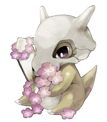 Cubones are adorable, but then they turn into Marowaks.