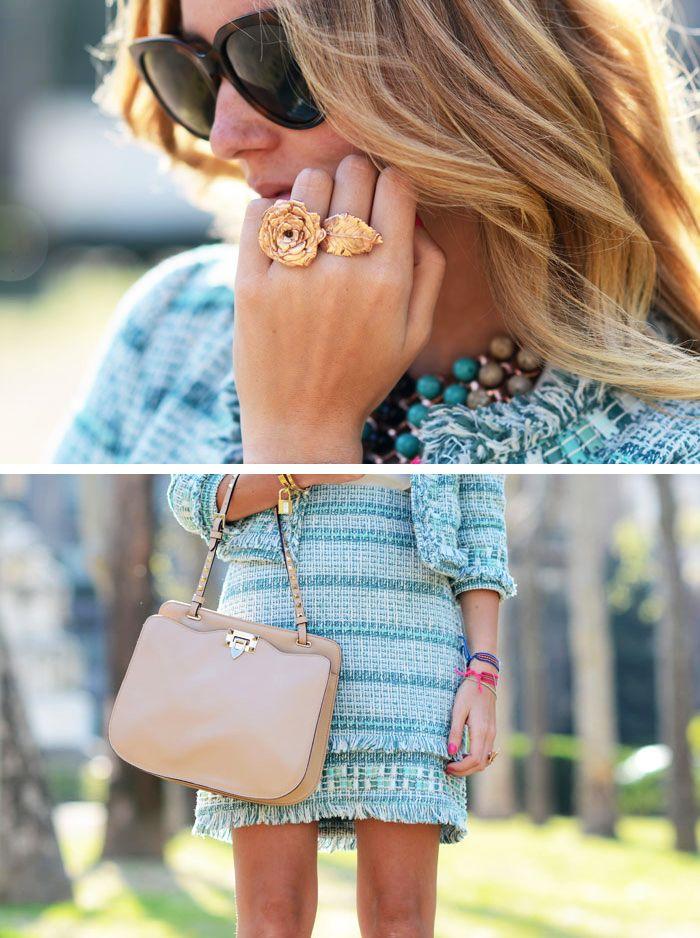 TWEEEED: Cool Rings, Pur Handbags, Tory Burch, Bags Pur, Design Bags, Spring Tweed, Louis Vuitton Bags, The Blondes Salad, Toryburch