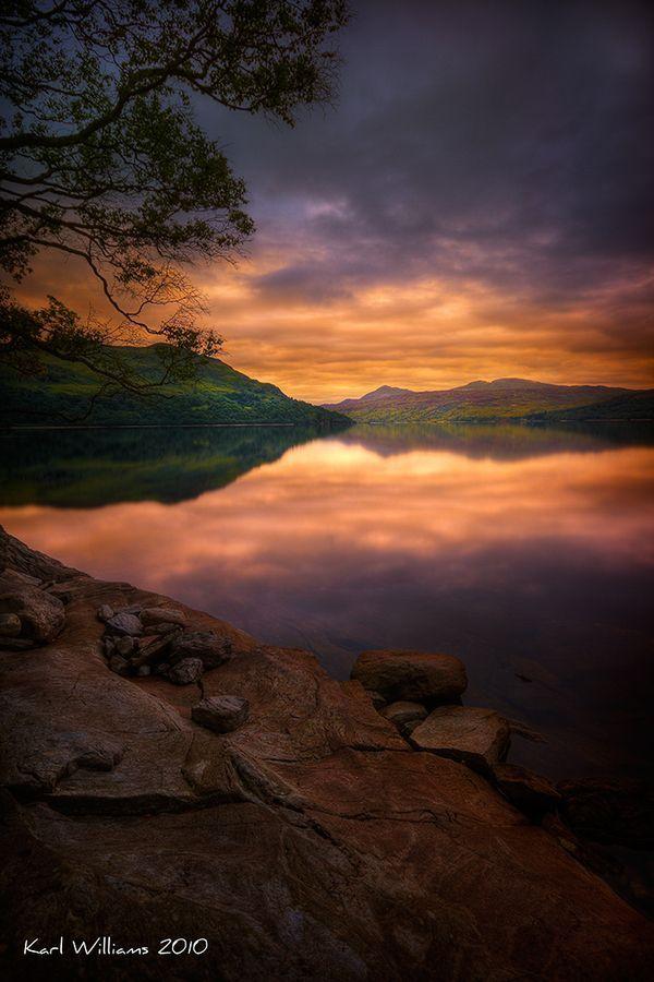 Katrine Dawn by Karl Williams   Loch Katrine   Trossachs, Scotland