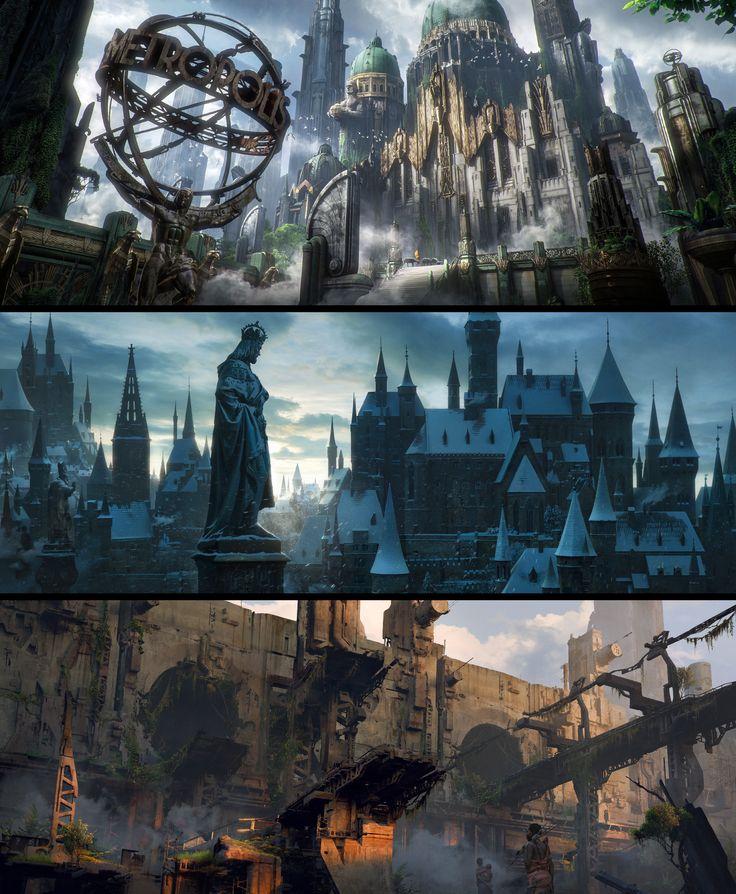 The Metropolis, Иллюстрация © ЮрийГвозденко