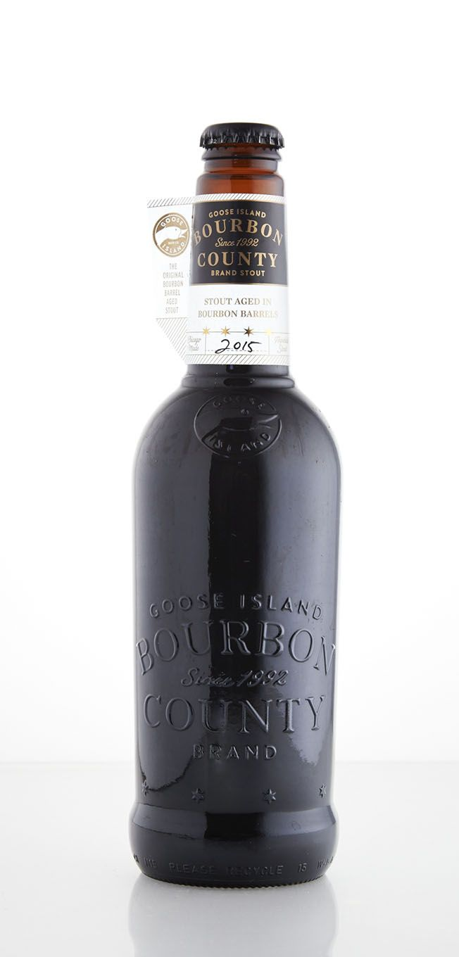 Goose Island Brewery 2015 Bourbon County Stout scored a 100 in our blind taste test.
