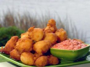 Corn Fritters - going to try this with leftover yellow squash and Jiffy cornbread mix . . . OMG! They were the bomb! Added a touch more flour to hold them together.