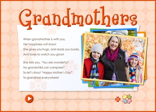 mothers day poems for grandmas | Mothers Day Poems For Grandmas From Baby