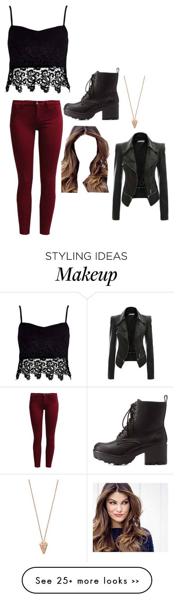 """""""Untitled #2157"""" by if-i-were-famous1 on Polyvore featuring River Island, Sisley, Charlotte Russe, ULTA and Pamela Love"""