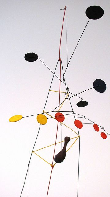 Top 5 Artists: Chosen by our Technical Director; his love grew exponentially for the works of Calder when he saw them at an exhibition at The Pace last year. The slow movement and fluidity of his mobiles was both concise and peaceful. We respect him as a pioneer, engineer and forward thinker.  http://bit.ly/sybartists