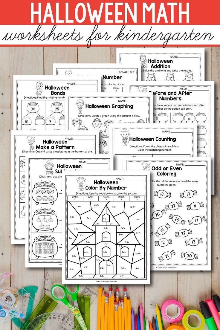 Halloween Math Activities For Kindergarten 1st Grade And Preschool Is Fun Wit Halloween Math Activities Kindergarten Math Activities Halloween Math Worksheets [ 1104 x 736 Pixel ]